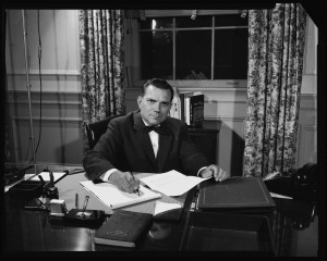 Aycock during his time as chancellor, 1957 - 1964.